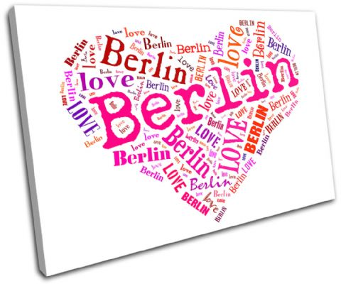 Berlin Heart I Love Typography - 13-0254(00B)-SG32-LO